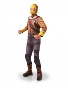Raptor™-Kostüm für Kinder Fortnite™ gelb-braun