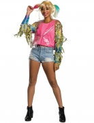 Harley-Quinn™-Jacke Birds of Prey™ Fransenjacke bunt