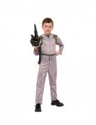 Ghostbuster™-Kostüm für Kinder mit Spielzeugwaffe beige