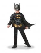 Batman™-Kostüm für Kinder Deluxe schwarz-gelb