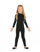 Langer Body für Kinder schwarz