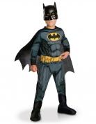 Batman™-Kostüm für Kinder mit Cape und Maske schwarz-grau-gelb