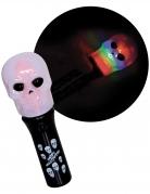 Totenkopf-Lampe Halloween-Taschenlampe bunt
