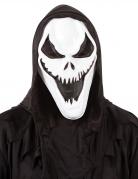 Killergeist-Maske für Erwachsene schwarz-weiß