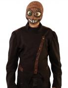 Latex-Maske mit Jutesack-Effekt Halloweenmaske braun