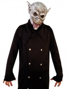 Vampir-Maske Nosferatu Halloween-Maske grau-beige