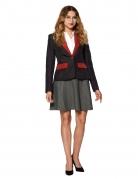 Mrs. Gryffindor™ Anzugsjacke für Damen Suitmeister™ schwarz-rot