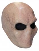 Alien-Maske für Erwachsene Halloween beige-schwarz
