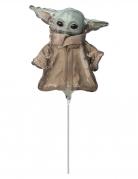 Kleiner Baby-Yoda™-Ballon The Mandalorian™ 23 cm