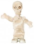 Mumien-Figur mit Licht, Geräuschen und Bewegung Halloween-Deko weiss 42 cm