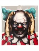 Spanner-Clown-Fensterbild Halloween-Deko Zirkus bunt 28 x 31 cm