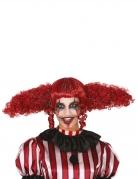 Riesige Killer-Clown-Perücke Halloween-Damenperücke rot