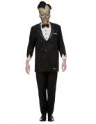 Lurch Addams Family™ Halloweenkostüm schwarz-weiss