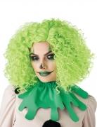 Horror-Clown-Perücke für Damen Halloween neon-grün