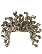 Medusa-Kopfschmuck Schlangen-Haarschmuck gold