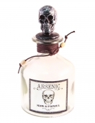Arsen-Flasche Gift-Fläschchen Halloween-Deko 16 cm