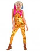 Harlekin-Latzhose Film-Kostüm Halloween gelb-gold