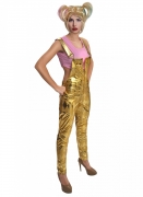 Harley-Quinn™-Kostüm mit Perücke Birds of Prey™ gold-rosa