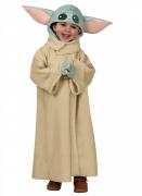 Baby-Yoda™-Kostüm für Kinder The Mandalorian™ beige-grün