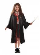 Hermine™-Kostüm für Kinder Harry-Potter™ schwarz-rot