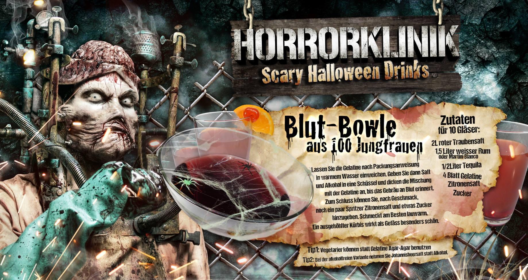 Blut-Bowle Cocktail-Rezept
