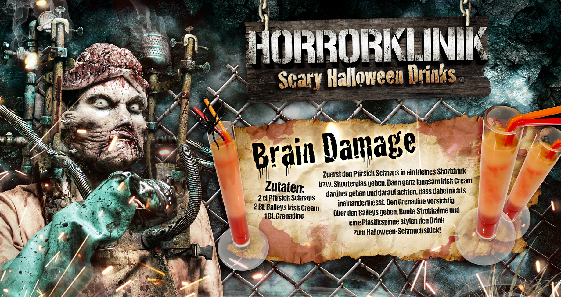 Brain Damage Cocktail-Rezept