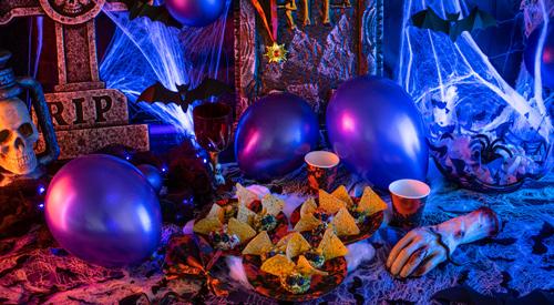 Halloween-Deko Fledermaus