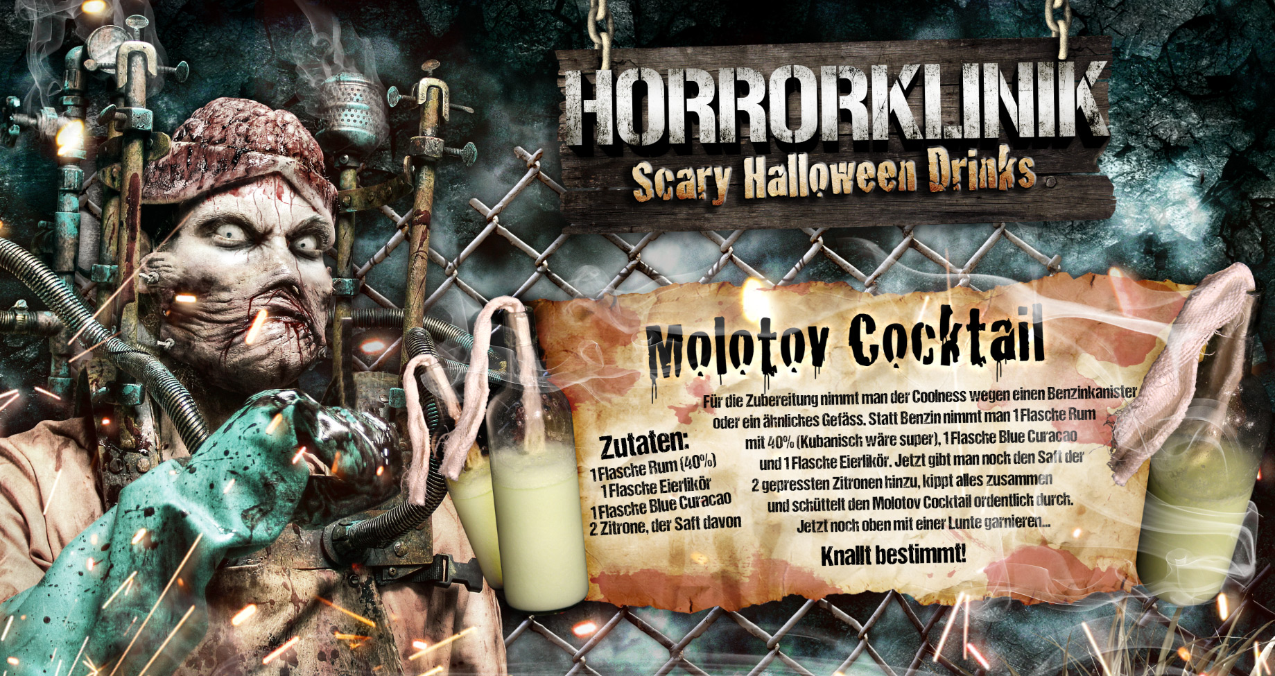 Molotov Cocktail-Rezept