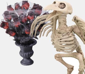 Günstige Halloween-Deko