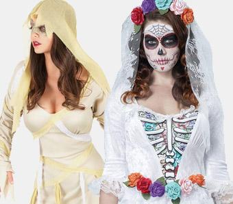Günstige Halloween-Kostüme für Damen