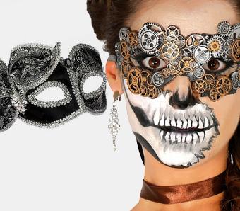 Halloween-Augenmasken