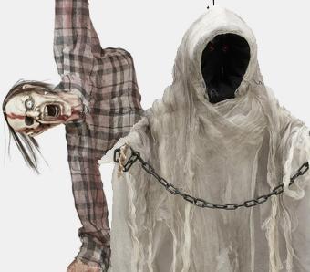 Halloween-Dekofiguren