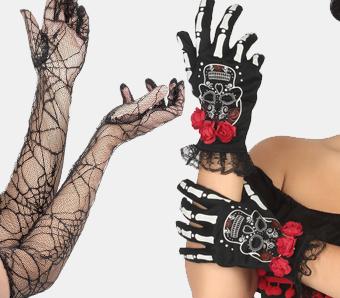 Halloween-Handschuhe