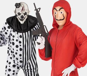 Günstige Halloween-Kostüme für Herren