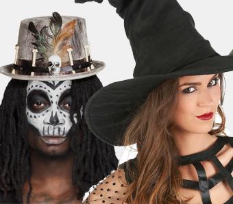 Halloween-Hüte & -Haarschmuck