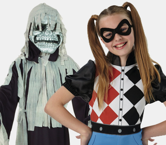 Günstige Halloween-Kinderkostüme