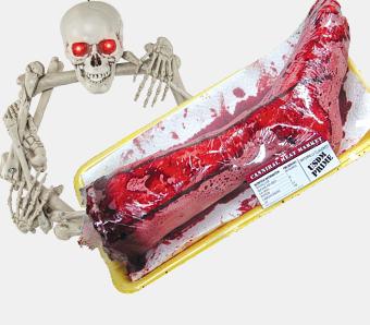Halloween-Knochen & -Körperteile