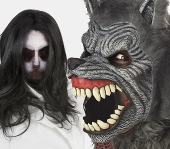 Halloween-Vollmasken