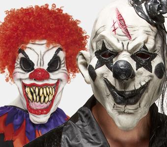 Killerclown-Masken