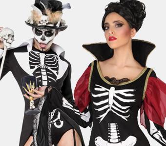 Skelett-Kostüme für Damen