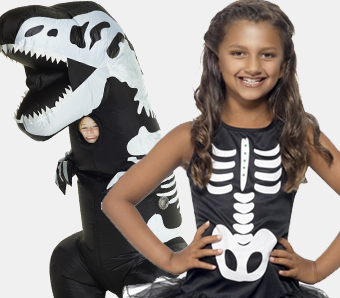 Skelett-Kostüme für Kinder