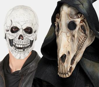 Skelett-Masken
