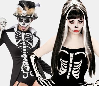 Skelettkostüme für Damen