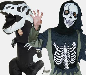 Skelettkostüme für Kinder