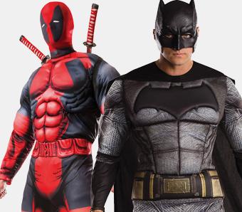 Superhelden-Kostüme für Herren