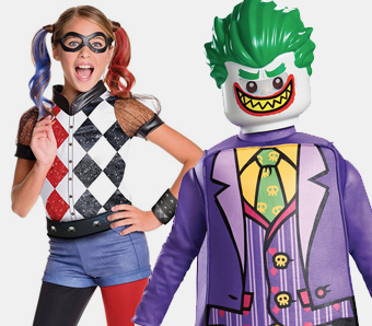 Superhelden-Kostüme für Kinder