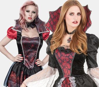 Vampir-Kostüme für Damen