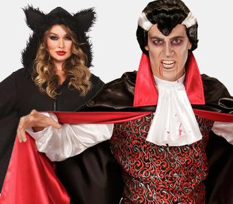Vampir-Kostüme in großen Größen