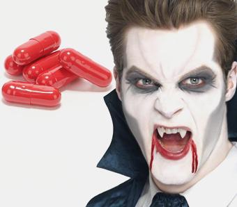 Vampir-Make-up