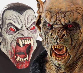 Vampir-Masken
